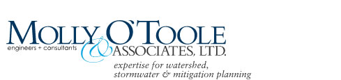 Molly O'Toole and Associates Ltd., consultants + engineers provide expertise for watershed, stormwater and mitigation planning.